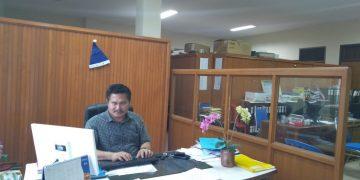 Sekretaris Departemen Pekerja GMIM Bidang Pekerja GMIM dan Pelayan Khusus Pdt Lucky Paulus Tumbelaka, M.Th
