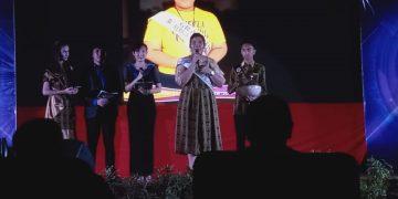 Angelia Tengko, Remaja Teladan Putri tahun 2019, pada malam grand final, di Hotel Sutan Raja Minut, beberapa waktu lalu.(dodokugmim/nataliatamangunde)