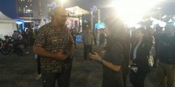 Mr Jean Miche Serrier  mengaku bangga bisa ikut sukseskan Manado Fiesta 2019. (dodokugmim/nickysangian)