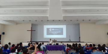 Sharing Dan Pelatihan Multimedia GMIM Rayon Tomohon dan Minahasa Tenggara, Jumat (4/10/2019).(dodokugmim/kevinlolowang)