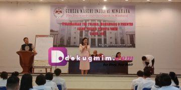 Seleksi terakhir calon vikaris GMIM, di Lantai Tiga Kantor Sinode GMIM, Jumat (14/2/2020)