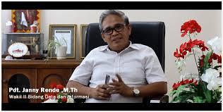 Wakil Sekretaris BPMS Bidang Data dan Informasi Pdt. Janny Rende, M.Th