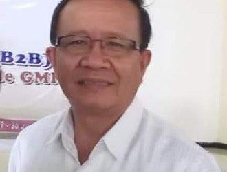 Wakil Ketua BPMS GMIM Bidang Hubungan Kerjasama Pdt. Ventje Talumepa, M.Th