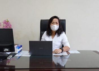 Wakil Sekretaris BPMS GMIM Bidang Pekerja GMIM dan Pelsus Pdt. Joice Sondakh, M.Th.(dodokugmim/manda)