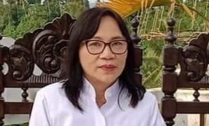 Sekertaris Departemen Kemitraan dan Dialog Sinode GMIM Pdt. Kathrin E. Ering, S.Th.(foto : dok. pribadi)